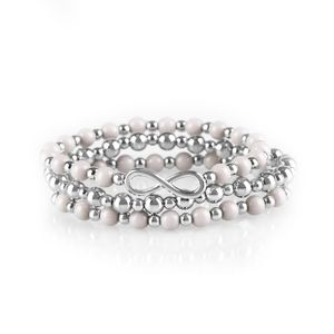 Paparazzi Immeasurably Infinite Silver Bracelets